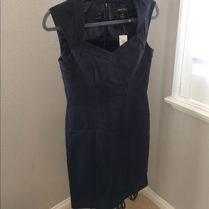 NWT White House Black Market dress, black, size 2